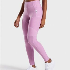 NEW Gymshark True Texture Leggings - Pink